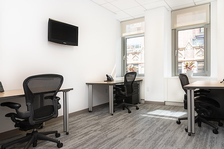 Helix Workspace - 295 Madison Avenue - Flex dedicated desk