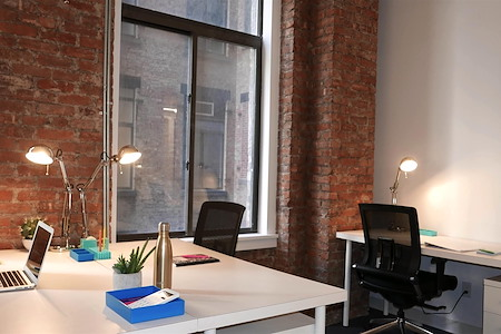 The Yard: City Hall Park - 4 Person Interior Private Office