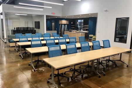 Innovation WorkSpaces - Brushy Creek Presentation Area
