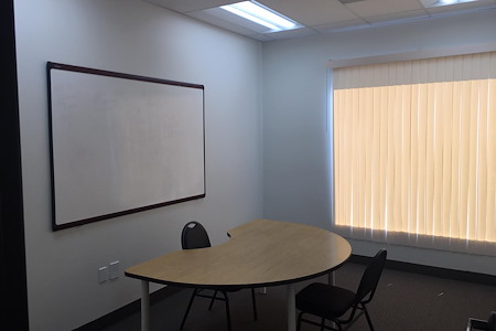 LA Career Coaching / M6 Consulting - Room 5 with Whiteboard and Window View