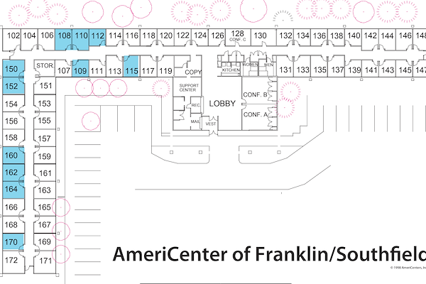 AmeriCenter of Franklin/Southfield - Multiple Offices for 30