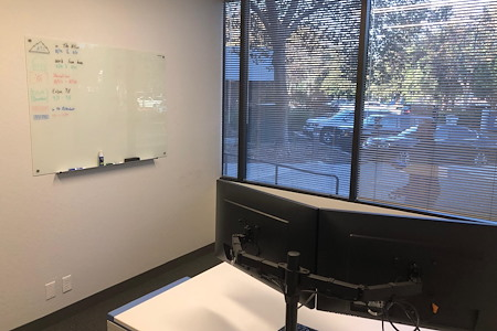 ATS Applied Tech Systems, LLC - Private Office - Adjustable Height Desk