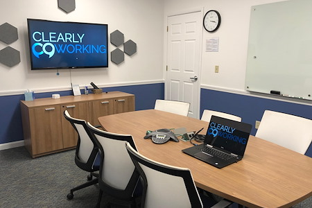 Clearly Coworking - Tatnuck Board Room
