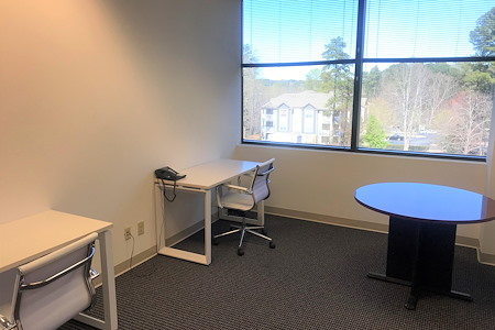 TKO Suites - Raleigh, NC - Furnished Window Office for 4-5 People