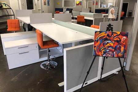 Amen Coworking - Sacramento - Stand-Up Dedicated Desk