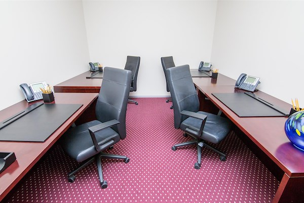 Servcorp - Boston One International Place - Adjacent internal suites-3 workstations
