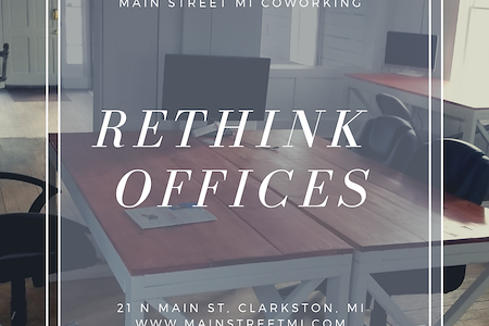 Main Street MI - Upper Level of Coworking Space