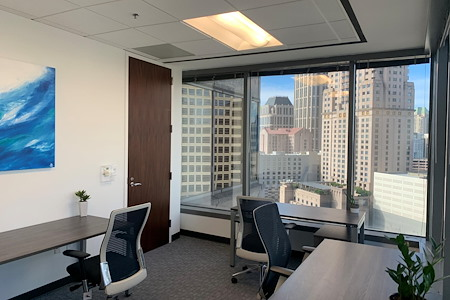 Peachtree Offices at 1100, LLC - Featured 2 to 3 Person Window Office