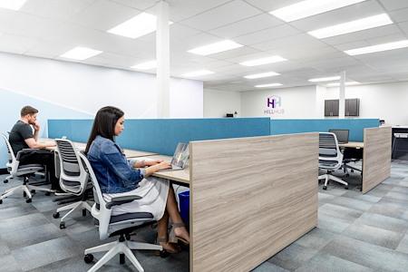 HillHub - Private Desk