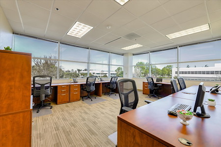 Pleasanton Workspace - 7-8 person corner office with great view