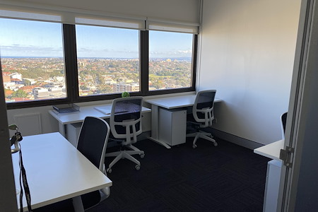 workspace365 Bondi Junction - 4 Person Office with Window View