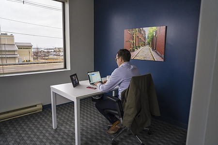 Workspace@Shipyard - Corner Window Office with nice views!