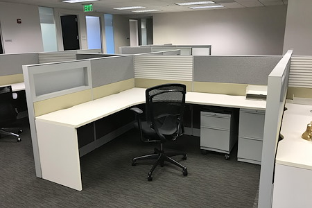 Apcela Co-Working Space @ Wiehle Reston East Metro - The Field Office - Dedicated Cubicle
