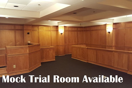 Flex Offices at the Crane Co Building of Memphis - Mock Trial Room