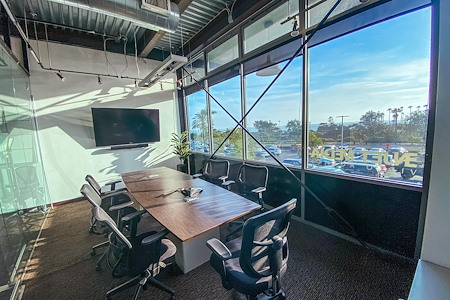 ENJET MEDIA - CONFERENCE ROOM with Ocean View