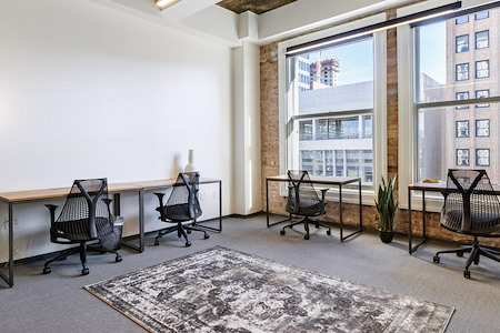 The Square with Industrious | Salt Lake City - Office Suite for 3