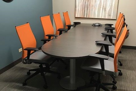 Office Evolution - Hoffman Estates - Meeting Room 1-Small Conference Room