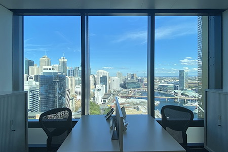 The Executive Centre - Three International Towers - 12-Desk Private Office (Harbour Views)