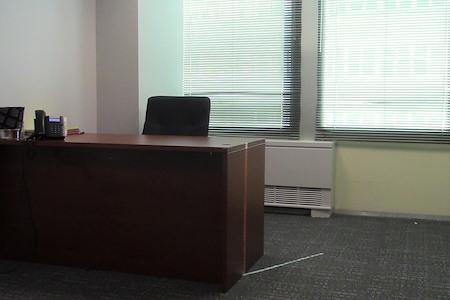 Jacob's Promise - Dedicated Desk 1