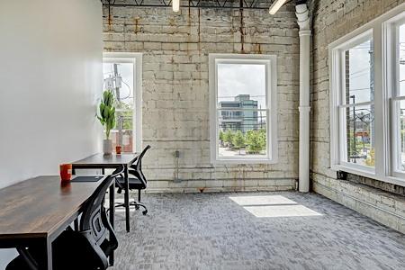Washington Office Co. - Large Corner Suite - Wash Ave.