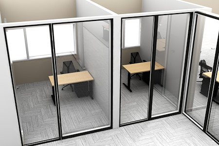 Hone Coworks - Office 76 - Window View