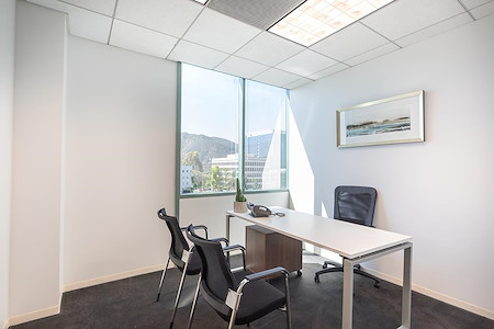 (BUR) Burbank Media District - Private Window Office suite 19