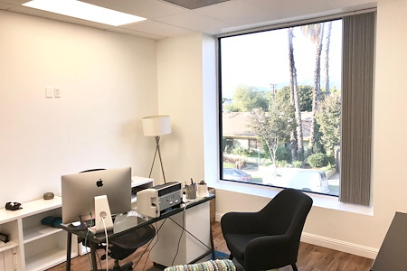 Blank Paige - Private Office with View