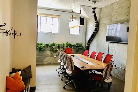 Union Cowork East Village - Concrete Meeting Room