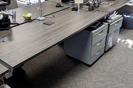 Pear Analytics - Dedicated Static Desk 1 with NO monitors