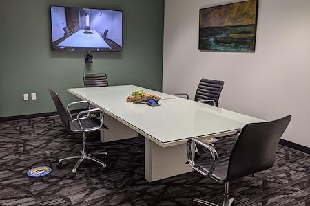 Pacific Workplaces - Oakland - Merritt Zoom Room