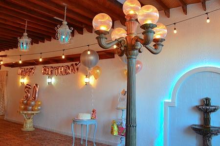 The Berwyn Bottega - Whimsical Rustic Patio-like space