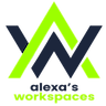 Logo of Alexa's Workspaces at Hollywood