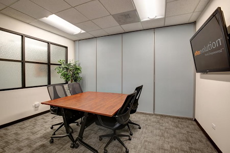 Office Evolution - One Cherry Creek - Conference Room 2 (4 ppl w/Social Dist.)