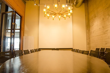 Galvanize | San Francisco - Boardroom