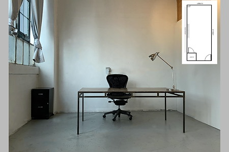Private Office Suite in Quiet Former Factory Space - Private Suite in Quiet Factory Bldg