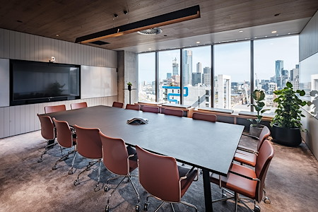 Space&Co. 8 Exhibition Street - 6 Person Boardroom | 22.02