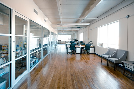 Amazing Creative Coworking Space with Plenty Amenities - Dedicated Desk 1