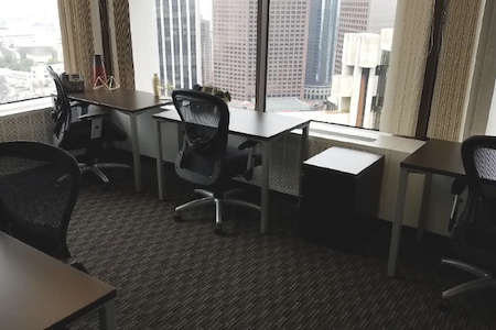 Regus-DTLA-Union Bank - Corner Window Team Space for 5