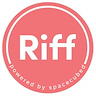 Logo of Riff, powered by Spacecubed