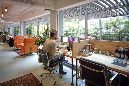 The Hive Central - Dedicated Desk (Month by Month)