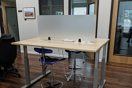 T-Werx Coworking - Private Stand Desk