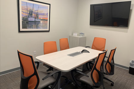 Office Evolution - Mount Pleasant - Wando Meeting Room