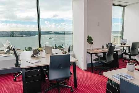 Servcorp Gateway - Office with Back Harbour & City Views