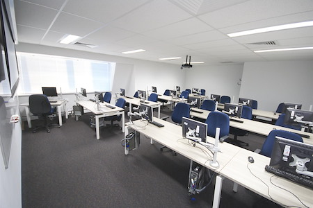 The Sitting Rooms - The Blue Room (Computer Lab)