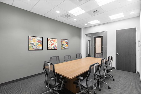 Regus | Mountain View Corporate - Private Boardroom for 8 at Regus MtnView