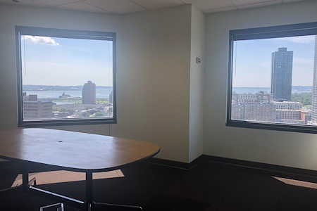 Coalition Space | Jersey City - Beautiful Corner Windowed Office
