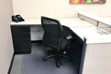 Leesburg Innovation - Semi-Private Dedicated Cubicle