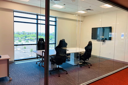 Co-Operate @ Black Fire Coworking Space - Small Conference Room - Seats 4