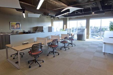ESPACES Cool Springs - Open Desk 1