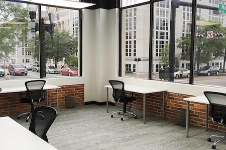 Novel Coworking Jacksonville - Office 205 Window